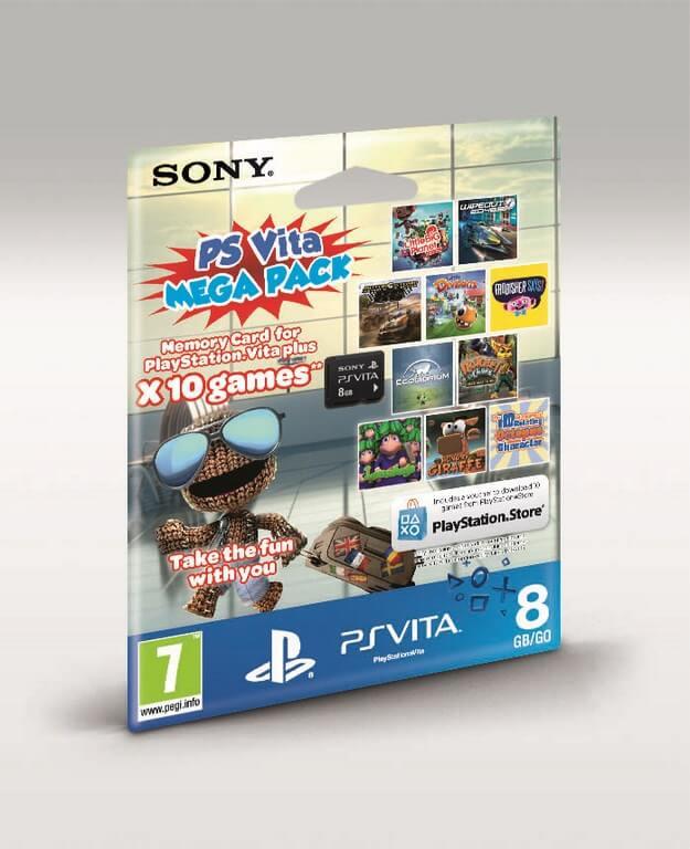 PS Vita Mega Pack CM8G