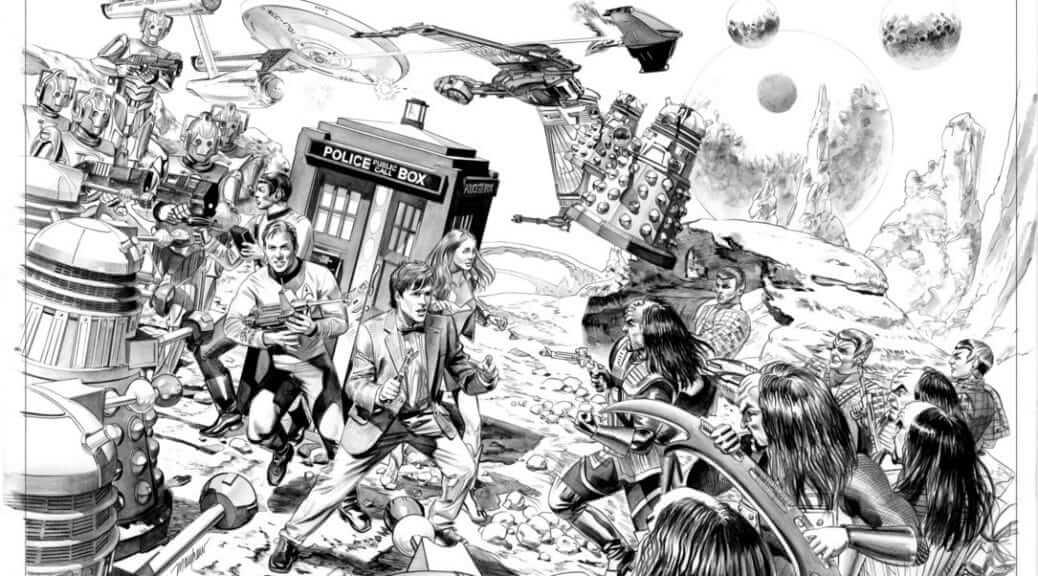 ArtWork Doctor Who / Star Trek