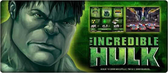 Machine à sous vidéo The Incredible Hulk | Le blog de Constantin