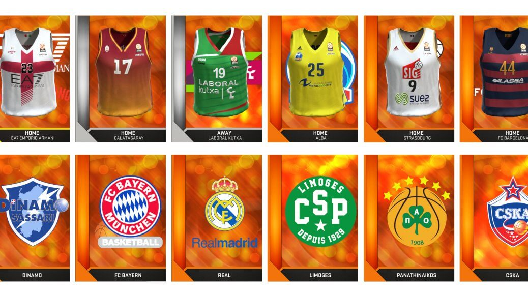La liste des équipes de l'Euroligue de NBA 2K16 est dévoilée   Le blog de Constantin