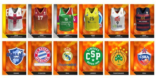 La liste des équipes de l'Euroligue de NBA 2K16 est dévoilée | Le blog de Constantin