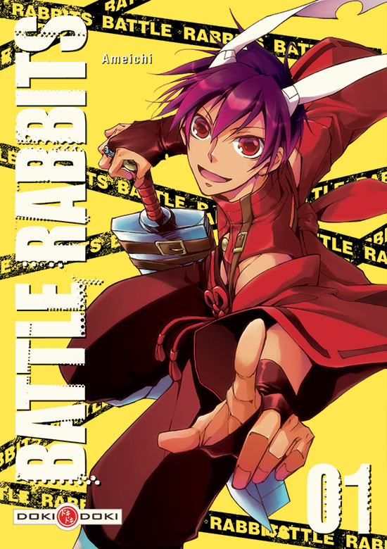 Avis Manga – Battle Rabbits T.1