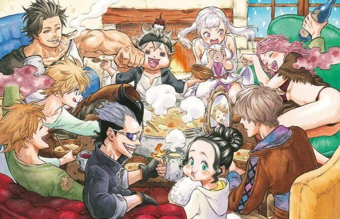 Avis Manga - Black Clover T7 | Le blog de Constantin image 2