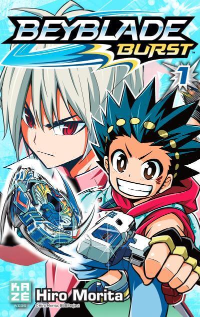 Avis Manga – Beyblade Burst T1
