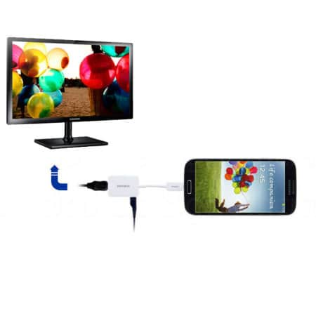 how to connect samsung tablet to tv without hdmi