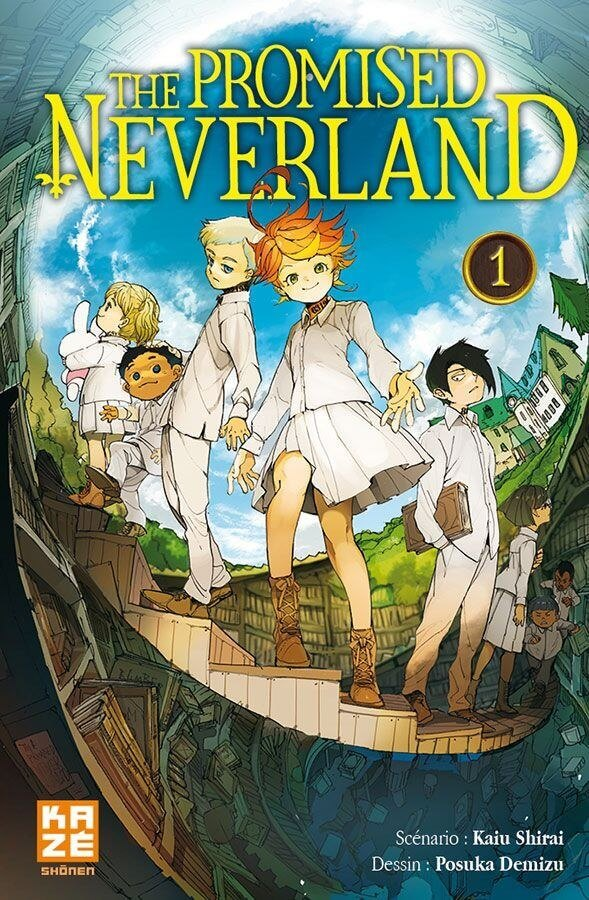 Avis Manga – The Promised Neverland 1